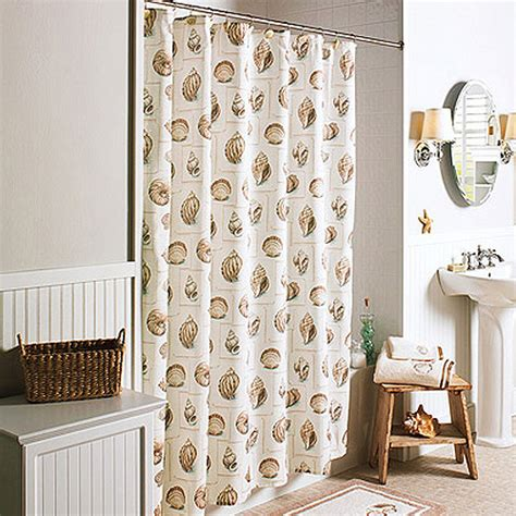seashell shower curtain walmart better homes and gardens shower curtain walmart com