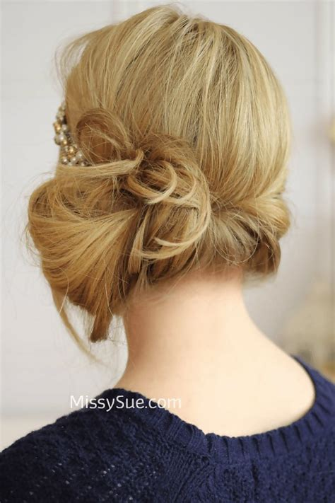 n easy hairstyles gatsby bun easy hair bun trends to try if you re sick of topknots livingly