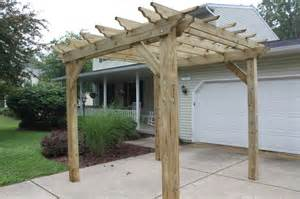 garden arbor plans pergola wooden pdf patio furniture