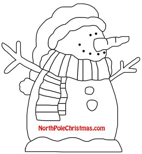 printable snowman craft patterns cheerful snowman template northpolechristmas com printable