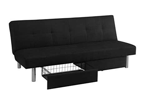 dhp sola convertible sofa futon w space saving storage