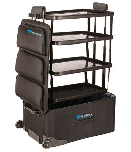 On The Shelf Suitcase by Shelfpack Revolutionary Suitcase With Built In Shelves In The Uae See Prices Reviews And