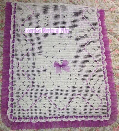 como tejer crochet para colcha en cuadros colchas de carrito de beb 233 de crochet imagui