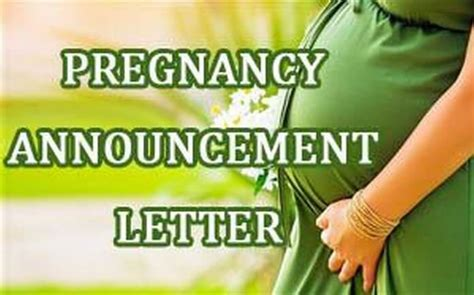 letter template informing employer of pregnancy sle letter to employer informing them of pregnancy