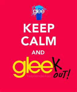 Welcome to keep calm and gleek out a tumblr dedicated to the