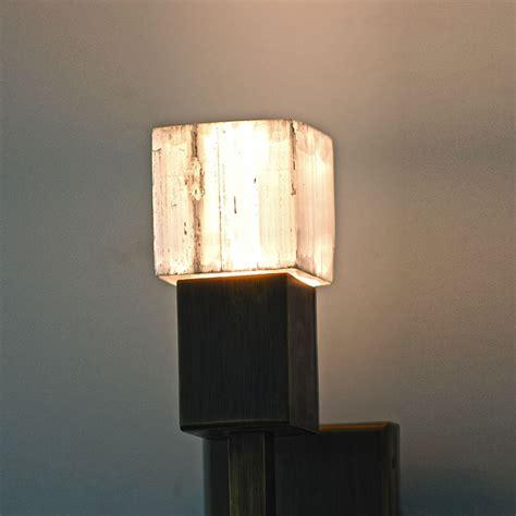 Modern Sconce Lighting Modern Selenite Sconce Lighting Deco Decor Custom