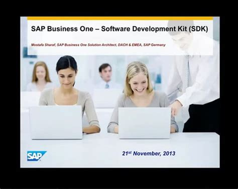 tutorial sap business one sap business one tb1300 video training on slide share