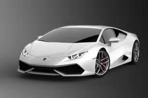 2015 Lamborghini Huracán 2015 Lamborghini Huracan White Front Three Quarters
