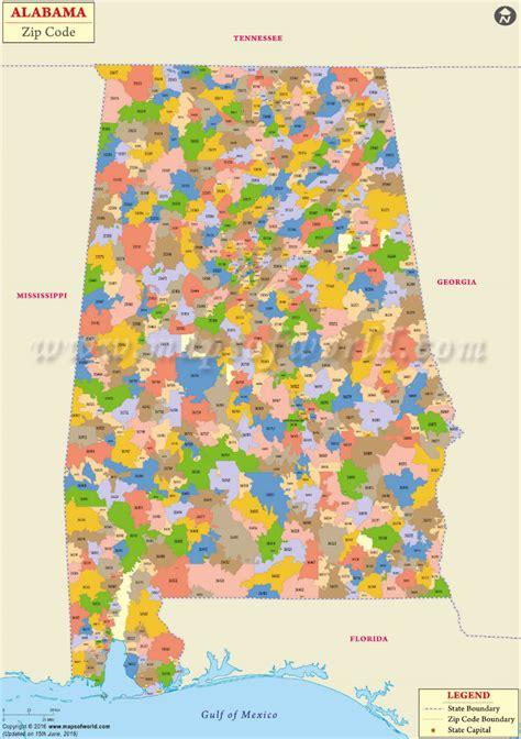 usa zipcode map alabama zip code map alabama postal code