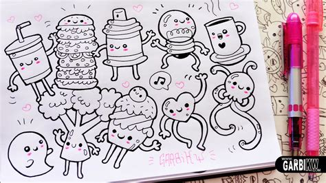 doodle drawing easy 10 drawings for your doodles easy and kawaii