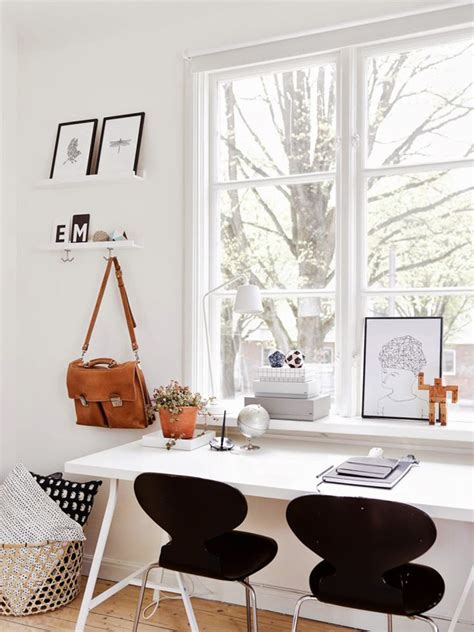 Home Office Desk In Front Of Window 15 Beautiful Two Seat Workspace Ideas Home Design And