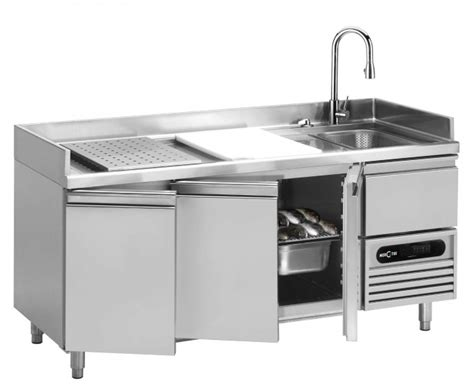 commercial prep table with sink furniture chic stainless steel prep table for kitchen