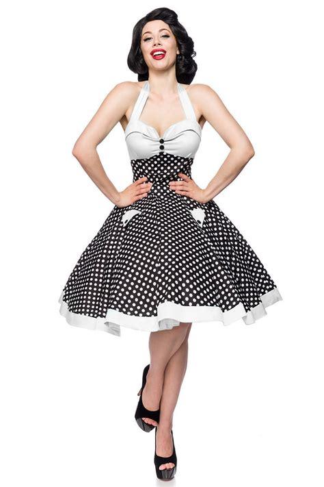 swing kleid punkte belsira 50er jahre rockabilly swing punkte kleid leira