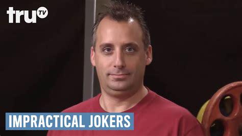 impractical jokers joe bathroom impractical jokers joe creeps out everyone at the gym