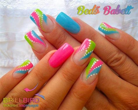 nail art tutorial funky blue zipper 25 best ideas about bright nail art on pinterest fun