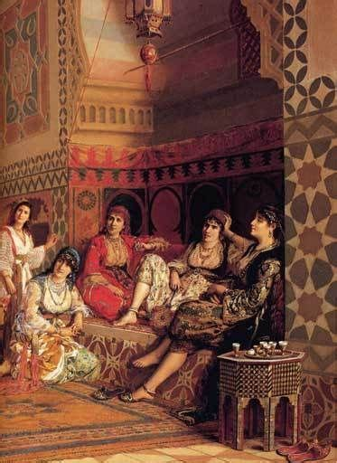 Ottoman Concubine The Harem Harems And Ottomans On