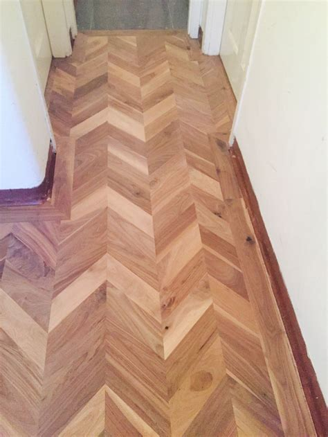 Chevron Wood Floor by Walnut Chevron Flooring Wood Floors