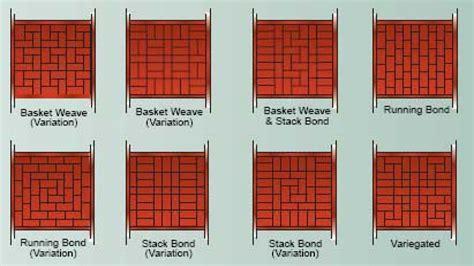 brick pattern ideas sidewalk paver designs patterns for laying brick pavers