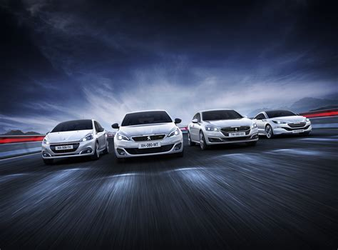 peugeot car range peugeot s gt line trim expands to models in the uk