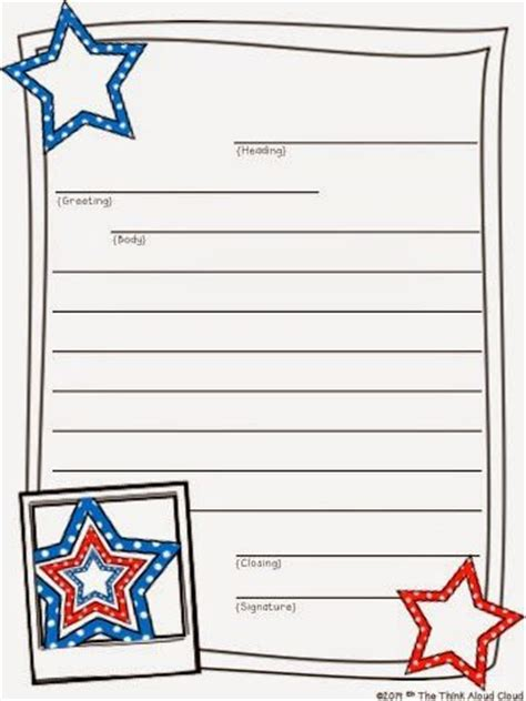 cards for veterans from children template 17 best images about friendly letters on