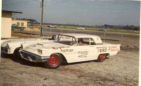Holman Pontiac by Holman And Moody Modified 59 T Bird And 57 Battlebird At