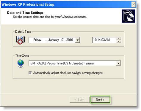 xp configure timezone vmware workstation 7 new features import windows 7 xp