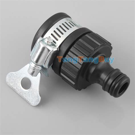 Adaptor Mixer 2x universal tap connector adapter mixer kitchen garden hose pipe joiner fitting ebay