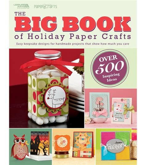 Paper Crafts Book - leisure arts big book paper crafts at joann