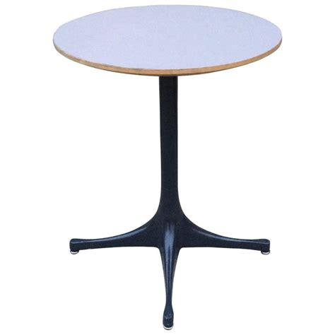 George Nelson Table L by George Nelson For Herman Miller Swag Leg Side Table For