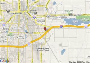 us map kalamazoo michigan map of fairfield inn kalamazoo east kalamazoo
