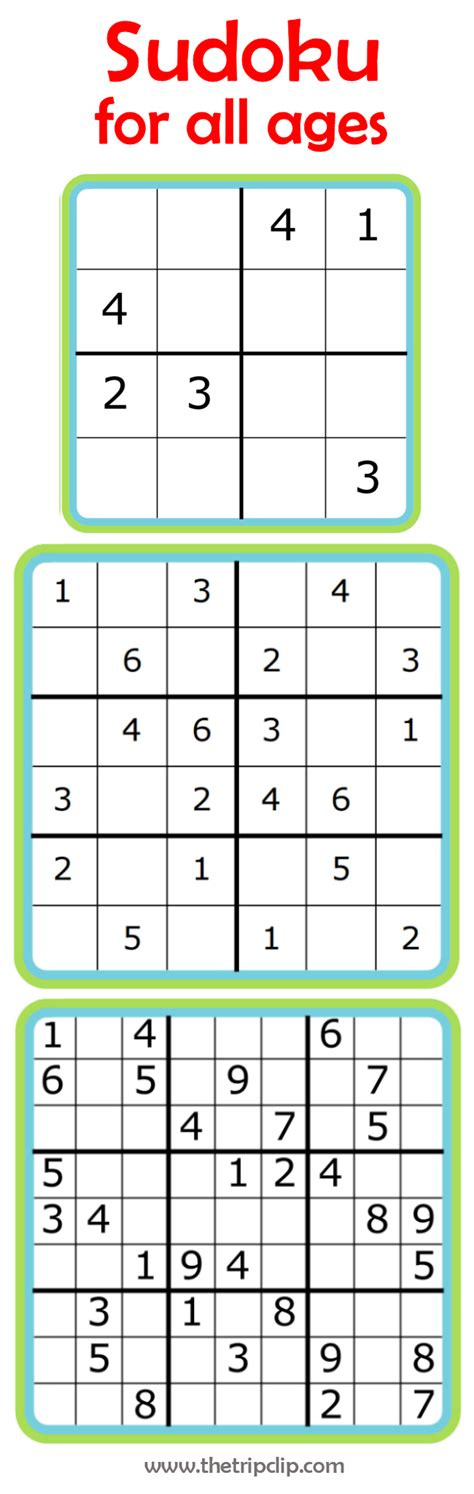 printable number sudoku week 7 learning math with sudoku youngest child 4x4