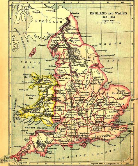 map in uk genuki maps