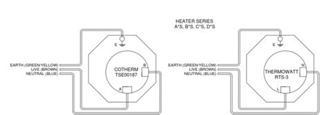 immersion heater switch wiring diagram circuit and