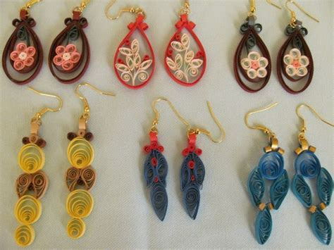 paper quilled flower earrings tutorial 17 best images about quilling earrings on pinterest