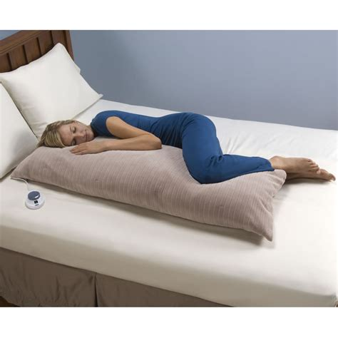 the only low voltage heated pillow hammacher schlemmer