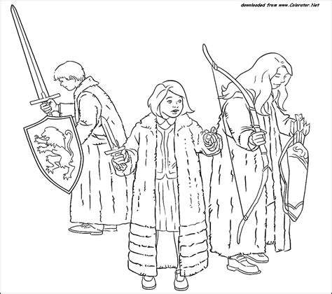 Narnia Coloring Pages To Download And Print For Free Narnia Colouring Pages