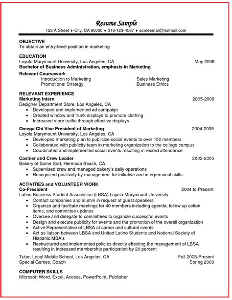 Pin By Resumejob On Resume Job Pinterest Relevant Resume Template