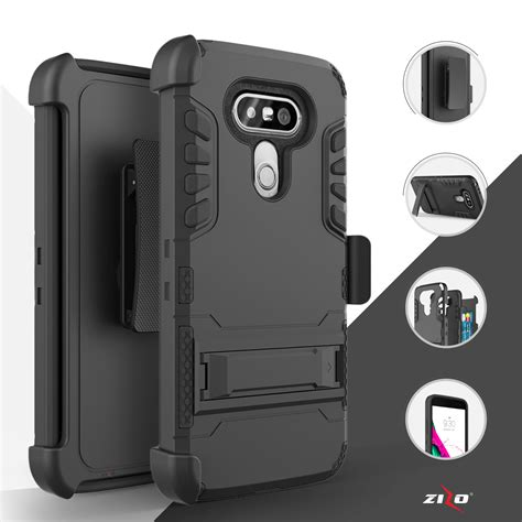 Rugged Armor Caseology Lg G5 New Hardcase Hybird 1 for lg g5 defender rugged armor kickstand clip holster ebay