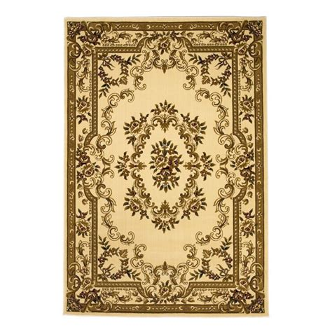 7 X 10 Area Rugs Kas Rugs Aubusson Ivory 7 Ft 7 In X 10 Ft 10 In Area Rug Cor531177x1010 The Home Depot