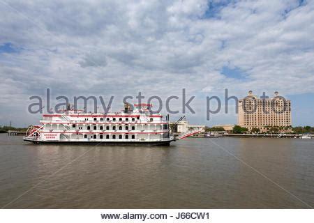 gambling boat savannah ga paddlewheel of riverboat stock photo royalty free image