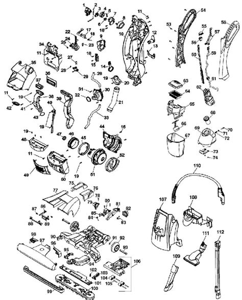 hoover floormate parts diagram hoover h3060 floormate spinscrub vacuum cleaner parts