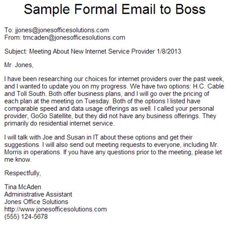 email format to your boss how to write a formal email cypher