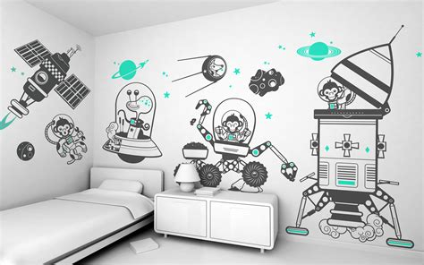kid room decals wall decals by e glue studio at coroflot