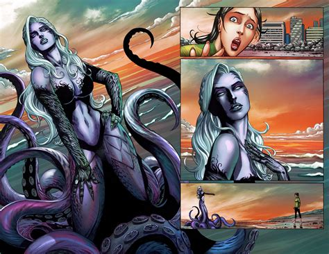 Books Vs Looks Mermaid Tales preview the mermaid 1 comics for sinners