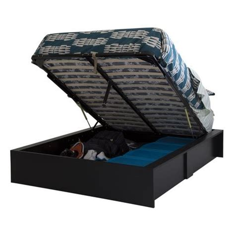 south shore storage bed south shore soho ottoman storage bed 60 quot walmart ca