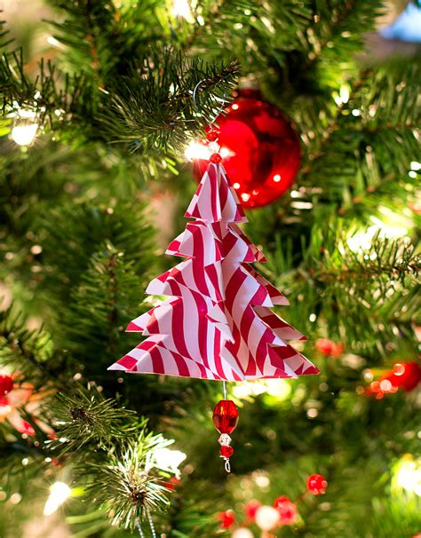 tree handmade ornaments 25 easy paper ornaments you can make at home