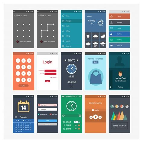Mobile Screenshots Templates Vector Free Download Mobile App Estimation Template