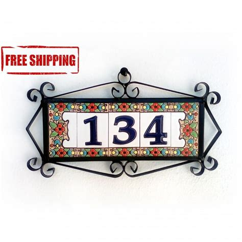 design your own house number plaque house number plaque house number 100 house numbers 20 number signs for house images