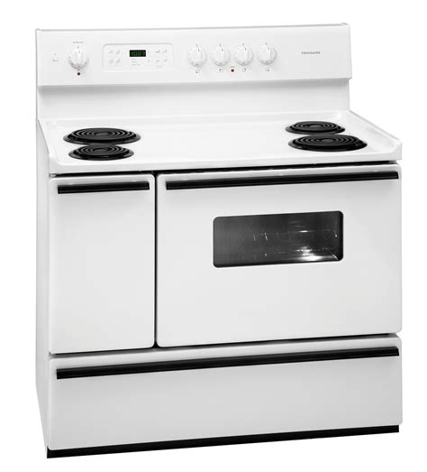 40 electric range new frigidaire white 40 quot freestanding 40 inch electric