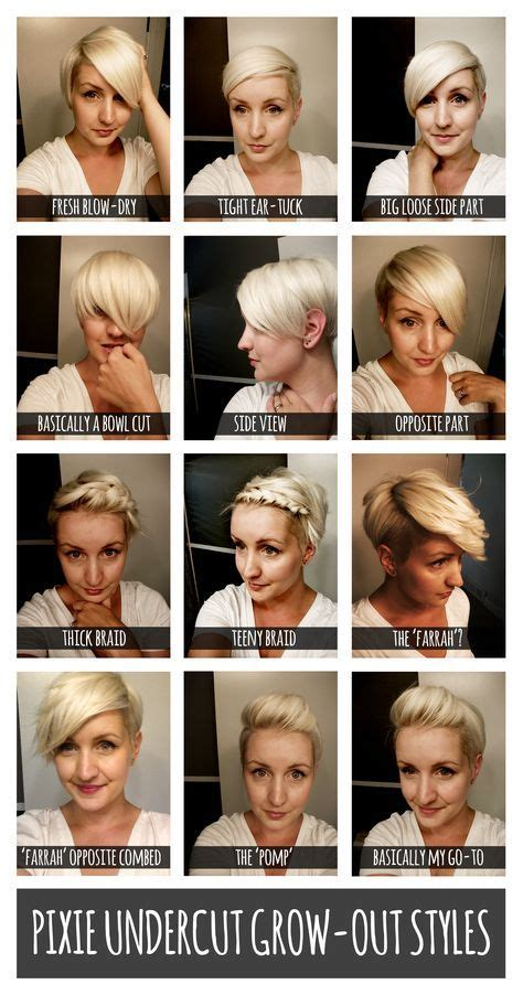 tips for growing out super short hair 1000 ideas about growing out undercut on pinterest